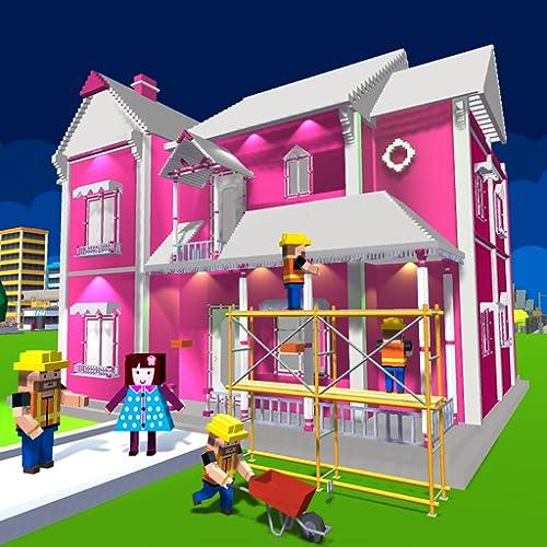 Puppenhaus Design & Dekoration: Mädchen Hausspiele