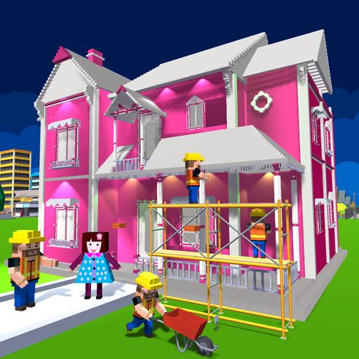 diseño y decoración de casa de muñecas: juegos de niñas
