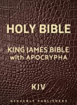 King James Bible with Apocrypha: Holy Bible (Annotated)