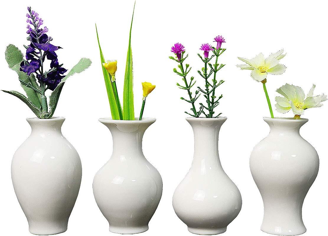 Fanghan Ceramic Vase Fridge Magnets Refrigerator Magnets Vases For Decor Office Decor Kitchen Decor Perfect Decorative Magnet Set Of 4