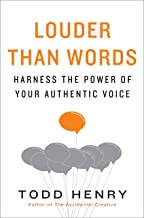 Best louder than words todd henry Reviews