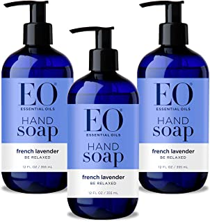 Sponsored Ad - EO Hand Soap: French Lavender, 12 Ounce, 3 Count