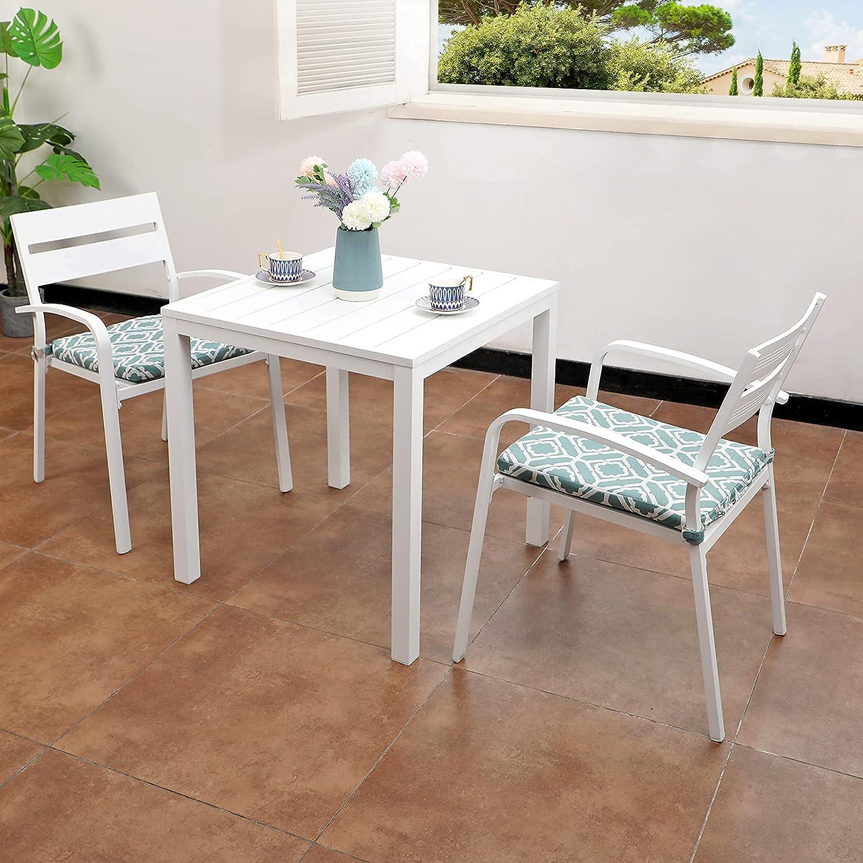 Max 90% OFF Soleil Jardin Aluminum 3-Piece Cheap Outdoor Set Bistro Patio