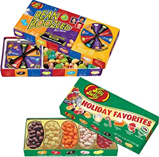 (Set) Jelly Belly Boozled Wacky & Holiday Favorites Flavored Jellybeans