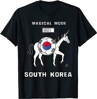 Magical Mode On South Korea Soccer Unicorn T-Shirt