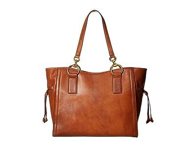 Frye Ilana Tote (Cognac) Tote Handbags