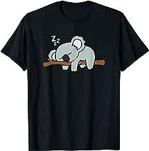 Cute Sleeping Koala Bear Cool Gift For Animal Lovers T-Shirt