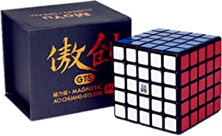 Liangcuber Moyu Aochuang GTS M 5X5 Black Magic Cube Moyu Aochuang gts Magnetic 5x5x5 Speed Cube (Magnetic Version)