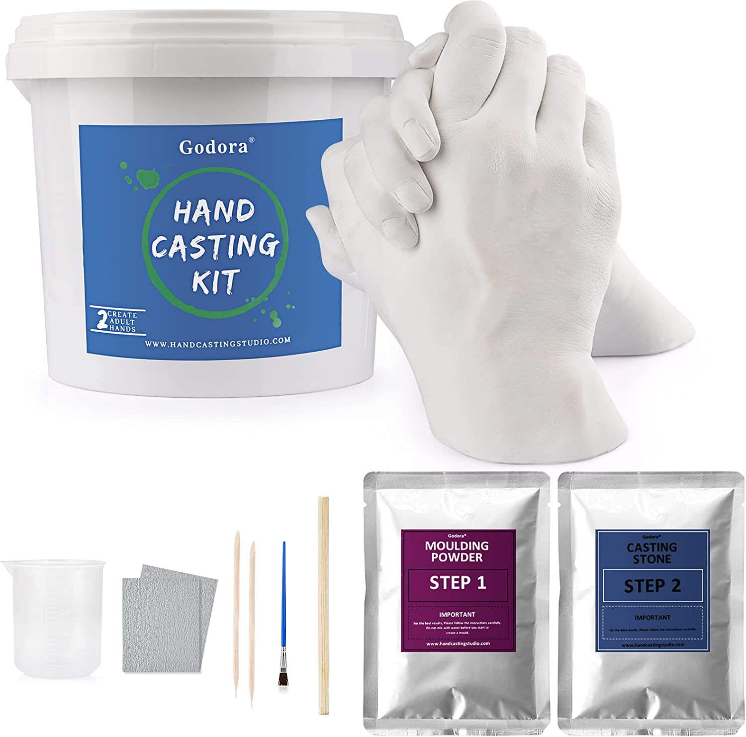 Hand Casting OFFicial Kit Couples Molding for Adults Max 79% OFF Fri Wedding Kits