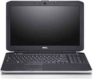 Dell Latitude E5530 469-3142 15.6 LED Notebook Intel Core i5-3210M 2.50 GHz 4GB DDR3 320GB HDD DVD-Writer Intel HD Graphics Bluetooth Windows 7 Professional