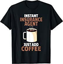 Best Insurance Agent Coffee Lover Gift Funny Coffee Humor T-Shirt Review