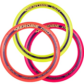 """Aerobie 13"""" Pro Ring - Set of 3 (Colors may vary)"""