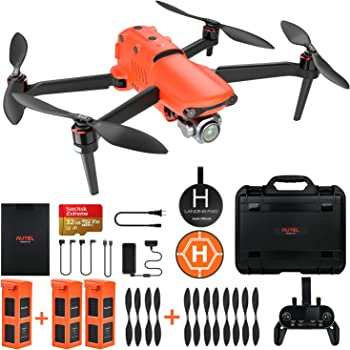 Autel Robotics EVO 2 Pro Drone 6K HDR Video for Professionals Rugged Bundle with $498 Value Accessories Kit