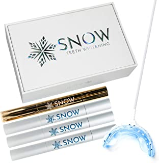 Snow Teeth Whitening At Home System – The Original All In One Kit For Regular and Sensitive Teeth - Safe For Braces, Enamel, Veneers, And Crowns