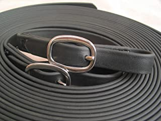 Beta Single Horse Driving Lines 3/4 Inch Wide, 20 Feet Black