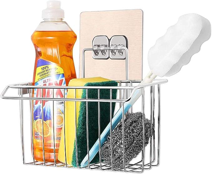 1484 opinioni per Bogeer- Organizer per lavello, per la cucina e il bagno, in acciaio inox, senza