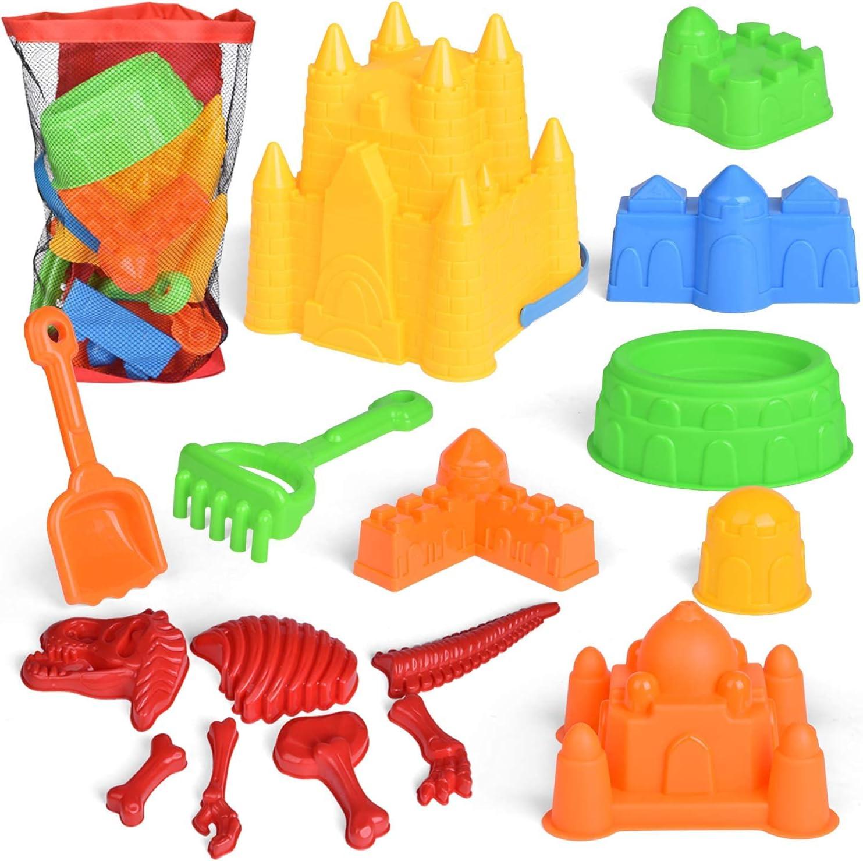 FUN Super intense SALE LITTLE TOYS Kids Beach Sand Toy Piece Ranking TOP4 17 Sandbox Toys Set