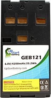 Leica TC407 Battery - Replacement for Leica GEB121 Survey Instrument Battery (4200mAh, 6V, NIMH)