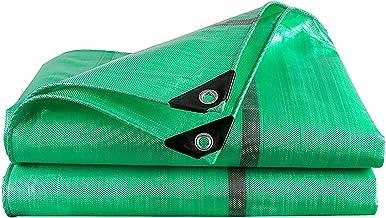 ZZYE Dekzeil Waterdichte zeildoek Groene multifunctionele polyethyleen Plastic Camping Tent Tarps, 240G / M2 zonnezeil (Co...