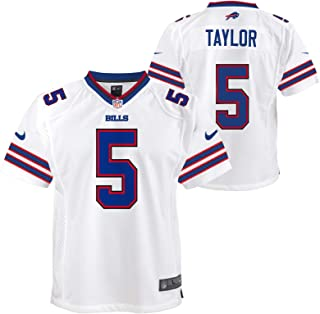 Outerstuff Tyrod Taylor Buffalo Bills NFL Nike Youth White Game Jersey