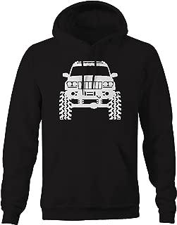 American 4x4 Grand Cherokee WJ Lifted Off-Road Funny Mens Sweatshirt