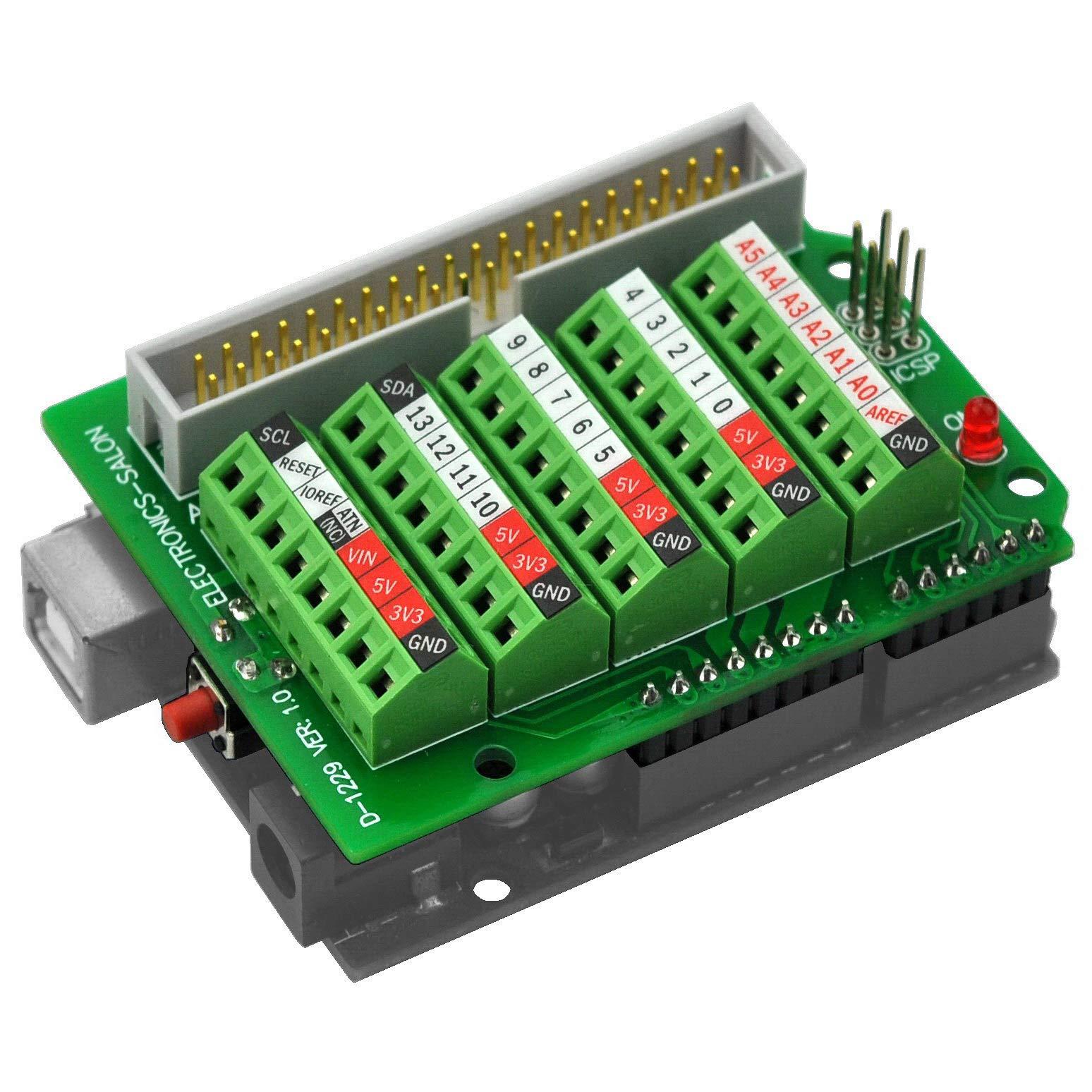 Electronics Salon Arduino Terminal Breakout Module