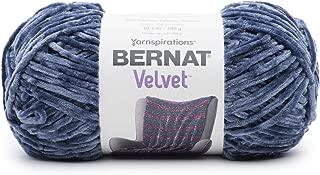 Bernat 16103232007 Velvet Yarn, 10.5 oz, Indigo