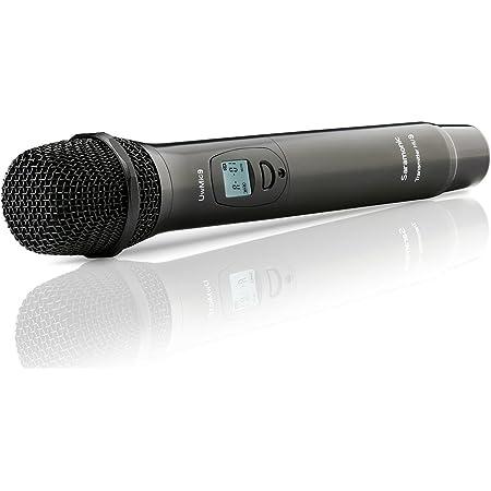 Saramonic HU9 96-Channel Digital UHF Micrófono de Mano Inalámbrico con Transmisor Integrado para Sistema de Micrófono UwMic9
