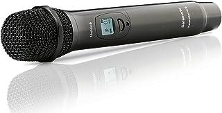 Saramonic HU9 Micrófono de Mano Digital UHF inalámbrico de 96 Canales con transmisor Integrado para Sistema de micrófono UwMic9