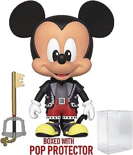 Funko 5 Star Disney: Kingdom Hearts 3 - Mickey Mouse Action Figure (Includes Compatible Pop Box Protector Case)