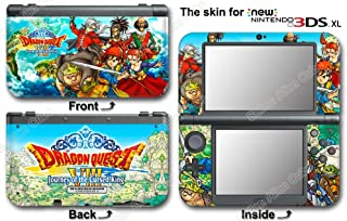 Dragon Quest VIII Journey of the Cursed King Skin Sticker Cover for NEW 3DS XL