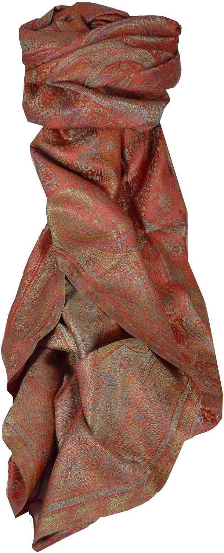 Jamawar Premium Silk Stole Pattern 3668 by Pashmina & Silk