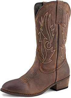 Best womens leather cowboy boots Reviews