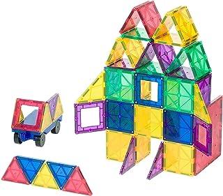 Playmags nagrodzone Jasne kolory magnetyczny Płytki 50 sztuk budynku stojącym w tym samochodzie - Kolorowe & Durable STEM ...