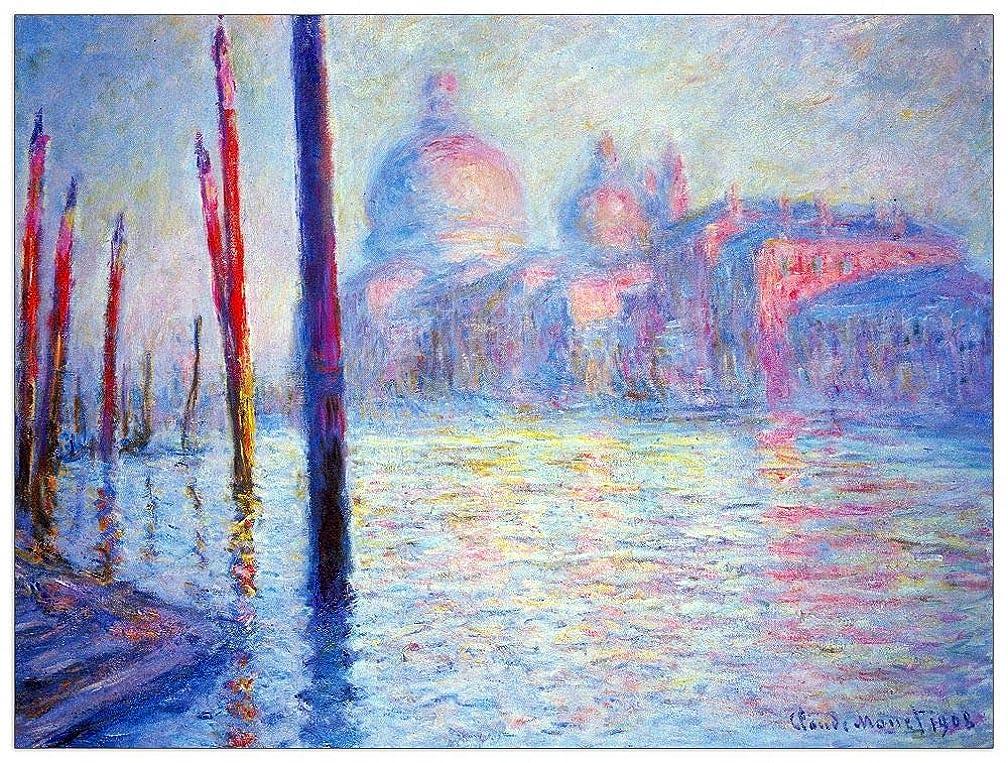 ArtPlaza TW91696 Monet Claude-Canal Grand Decorative Panel, 35.5x27.5 Inch, Multicolored