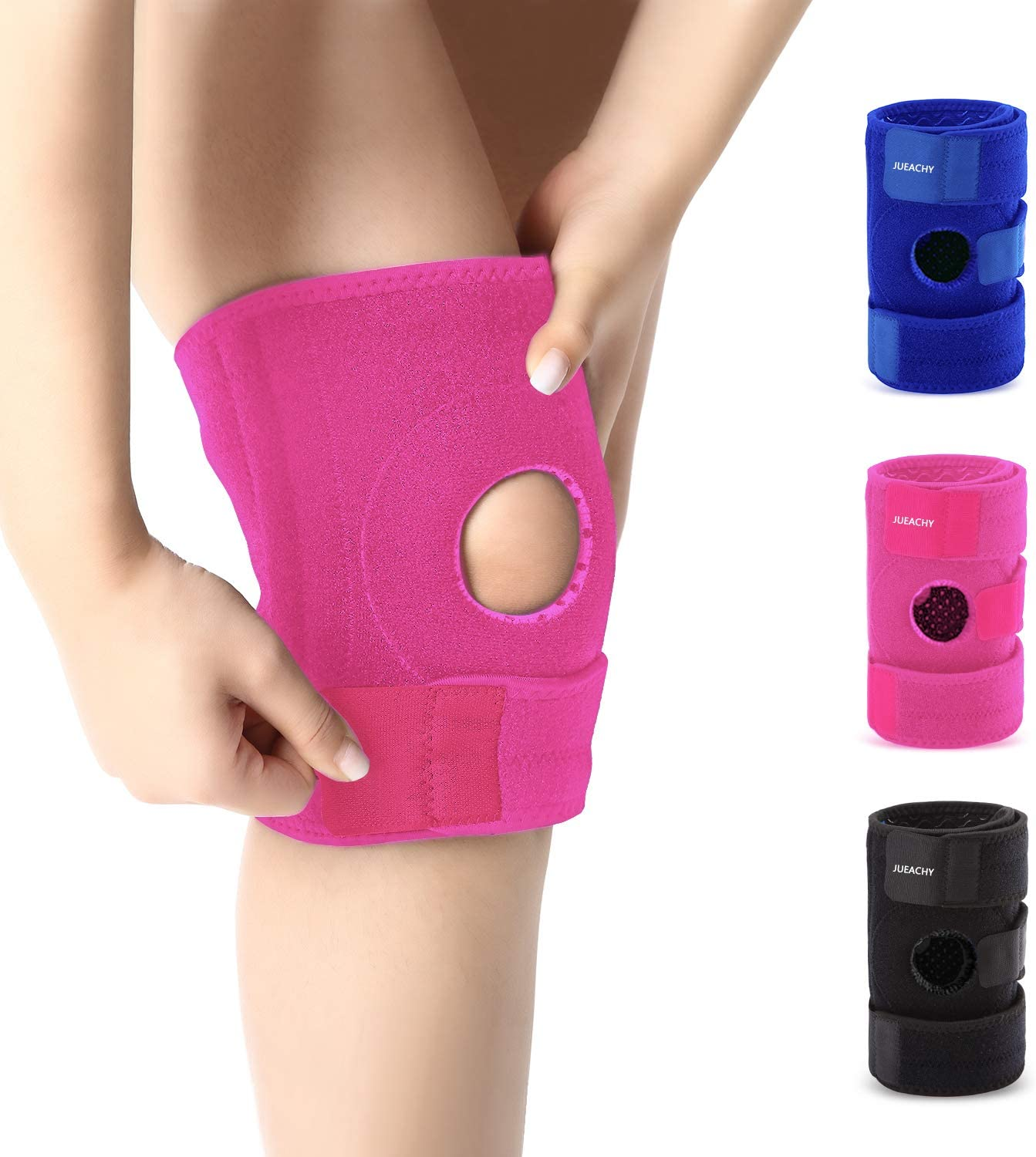 Jueachy Knee Limited time cheap sale Brace for Man Protector Women Run Support Kansas City Mall