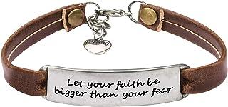 Yiyang Leather Bracelets Jewelry for Women Inspirational...