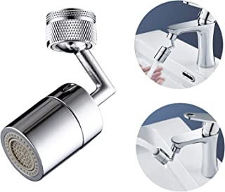 New Upgrade 720° Rotatable Faucet Sprayer Head,Universal Splash Filter Faucet with 4-Layer Net Filter for Kitchen,Anti-Spl...
