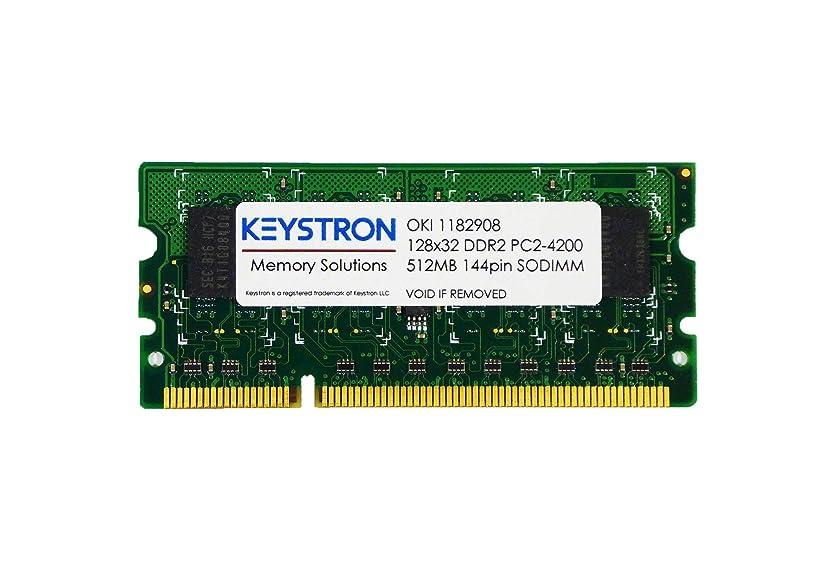 Keystron 512MB DDR2 144Pin Memory RAM for OKI Color Printer MC362dn, MC362dn-L, MC362w, MC562w, MC562dn