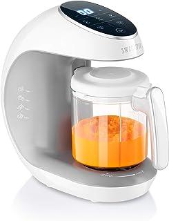 Sweety Fox - Cuocipappa Mixer Multifunzione 7-in-1 per Bébé - Vapore, Mixer, Pulse, Pulizia Automatica, Sterilizzatore Bib...