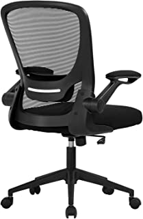Home Office Chair Ergonomic Desk Chair Mesh Computer Chair Swivel Rolling Executive Task Chair with Lumbar Support Arms Mi...