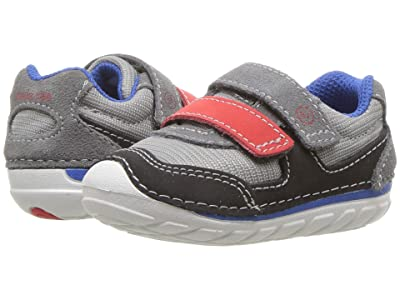 Stride Rite SM Mason (Infant/Toddler) (Grey/Black) Boys Shoes