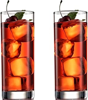 TIENER Glass Glass Set - Set of 6, Clear, 350ml