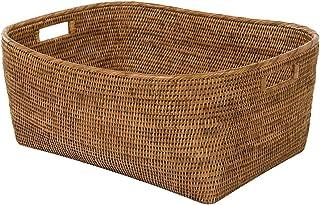 Kouboo 1060132 Storage Basket, Large, Honey Brown