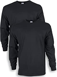 Sponsored Ad - Gildan Men's Ultra Cotton Long Sleeve T-Shirt, Style G2400, 2-Pack