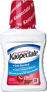 Kaopectate Anti-Diarrheal Upset Stomach Reliever, Cherry, 8 Fluid Ounce