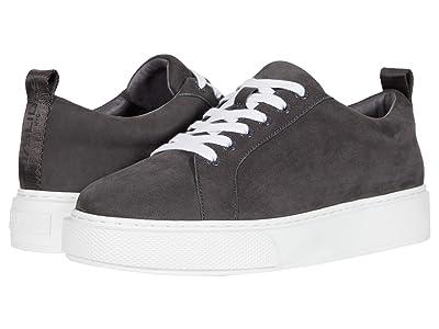 J/Slides Delilah (Dark Grey Leather) Women