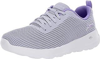Skechers Go Walk Mesh-Upper Pull-Tab Side-Logo Lace-Up Walking Sneakers for Women