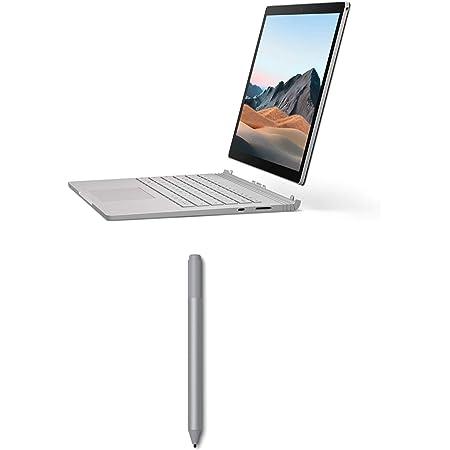 """Microsoft Surface Book 3 - Ordenador portátil Convertible de 15"""" Full HD, Platino - Teclado QWERTY Español + Microsoft Surface Pen - Lápiz para Surface, Plata"""