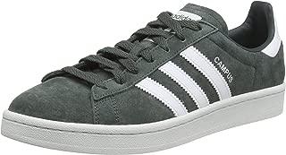 adidas, Campus Trainers, Men's Shoes,Black/White/ChalkWhite, 7 US